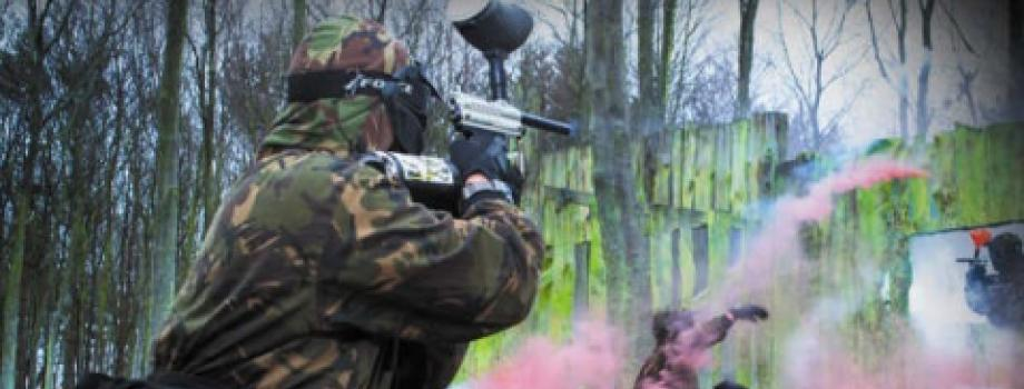 Paintball in Cardiff, South Wales